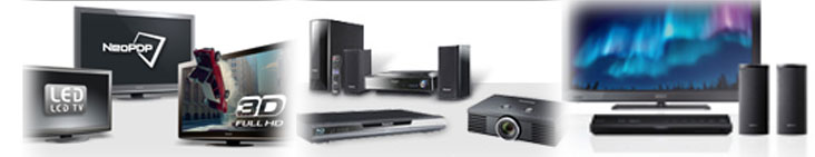 audio visual products